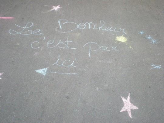 PARIS - le bonheur