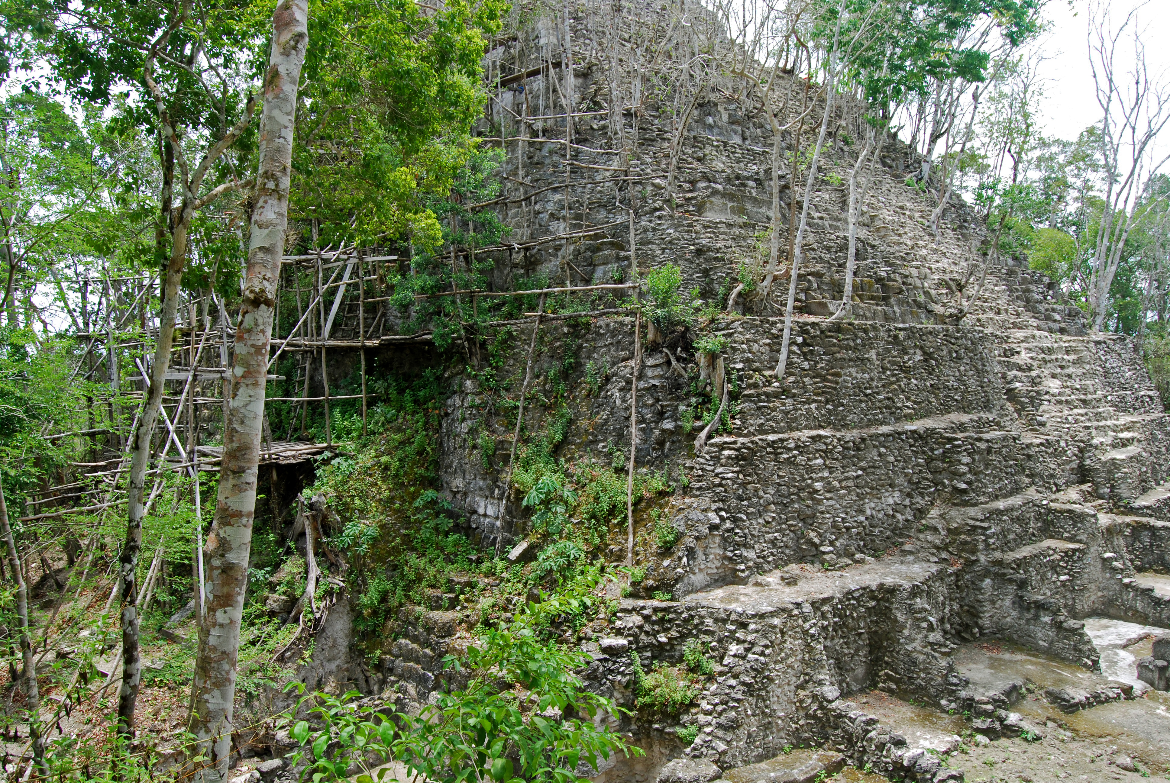 el-mirador-peten-structure-restauration