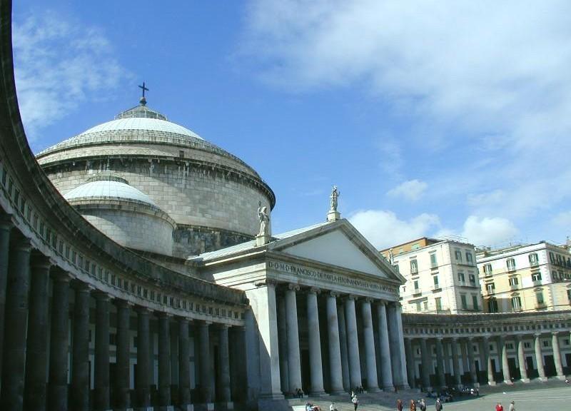 Basilique de San Francesco di Paola, Naples (crédit : Commons Wikimedia)